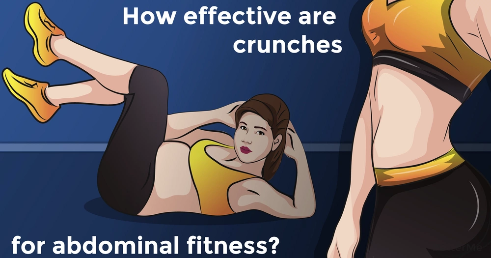 How effective are crunches for abdominal fitness?