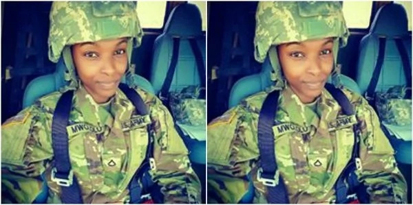Meet Fridah Mwololo, a 26-year-old US army engineer from Kenya