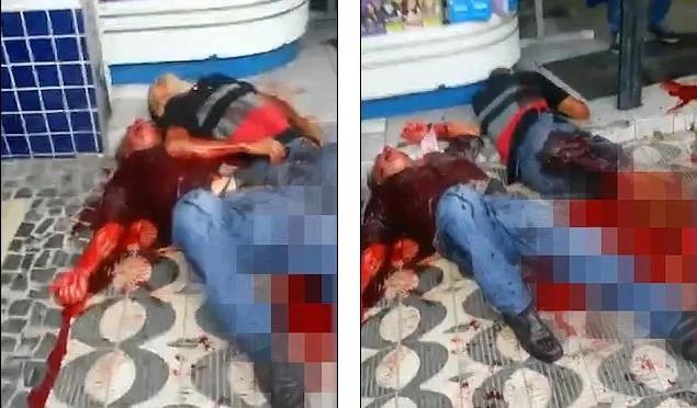 Estos policías brasileños se dispararon entre sí. Averigua por qué.