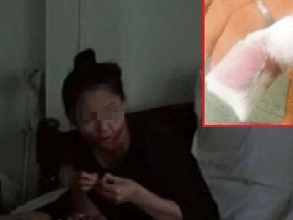 Sobrang brutal! Cannibalistic Malaysian woman eats husband's finger for coming home late