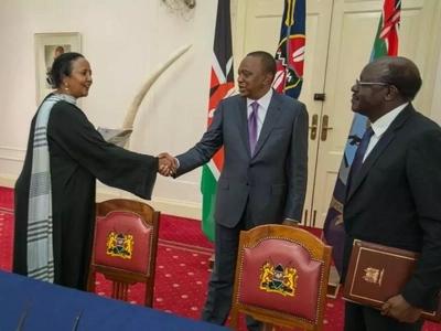 This is the good news Uhuru Kenyatta wanted to hear on Amina Mohamed