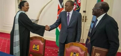This is the good news Uhuru Kenyatta wanted to hear on Amina Mohamed