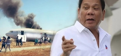 Charot only! Duterte jokes about a Leni presidency in case he dies on plane crash
