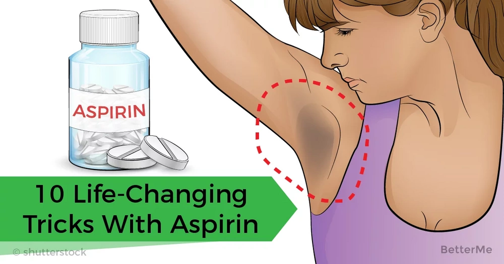 10 life-changing tricks with aspirin every woman should know