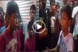 Fliptop using local dialect! Young Pinoys battle in Bisayan word war