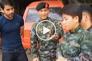 Awesome SAF members show Atom Araullo how women can effectively fight and defeat attacker