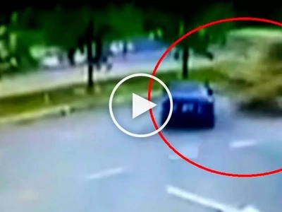 Notorious carnapper gets crushed by massive truck while trying to escape in stolen car