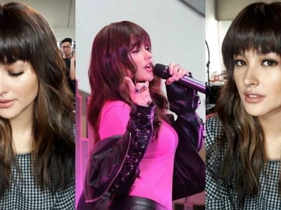 Liza Soberano shows off new hairdo. Full bangs trend is back!