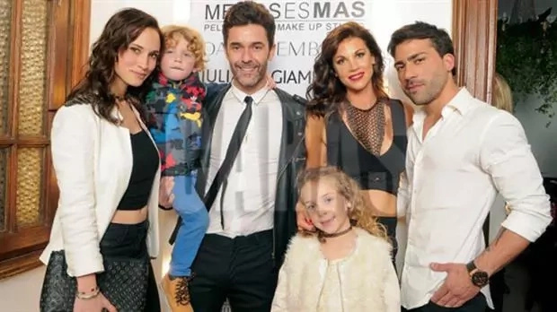 La nueva familia de Mariano Martínez causó sensación en las redes