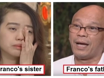 Sila ang pinakanasaktan! Franco Hernandez's father and little sister open up about the death of their loved one