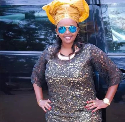 Photos of the pretty woman that Kenyans want Maina Kageni to marry
