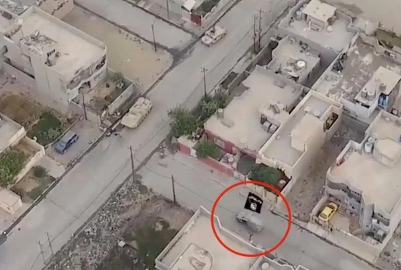 ISIS Use Drones To Capture Sickening Footage Of Attacks On Army Convoys