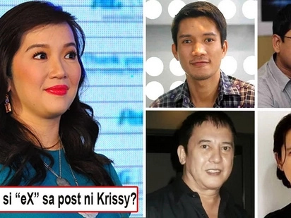 Sino kaya pinapangarap niya now? Kris Aquino reveals the 'eX' in her post is not James Yap and netizens have several guesses!