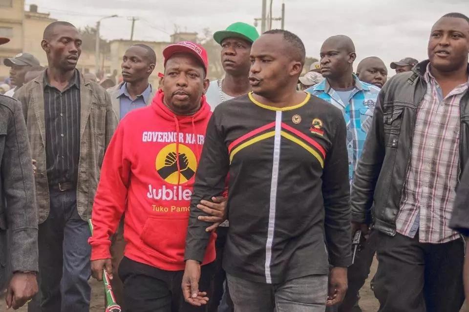 Mike Sonko aahidi adhabu kali dhidi ya askari wa baraza la jiji ikiwa atachaguliwa. Adhabu ni pamoja na kifo