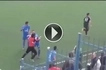 Chaos on the Football pitch - You will not believe what started this fight among players