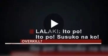 Pasay police allegedly OVERKILLED pedicab driver who was about to surrender caught on video