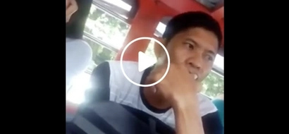 Beware of this man! Pinoy man steals cellphone of female passenger with an unconventional modus