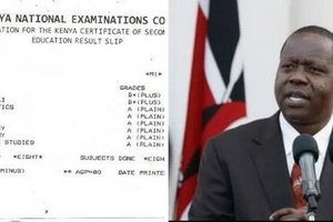 ATTENTION: If you notice these anomalies on your KCPE result slip, contact KNEC immediately