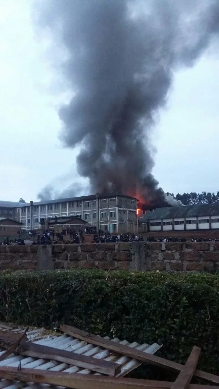 Another school in Kenya on fire