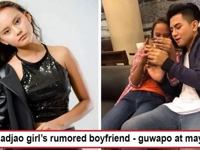 Nakabingwit ng mayaman! Badjao girl Rita Gaviola cuddles with handsome and rich guy rumored to be her boyfriend