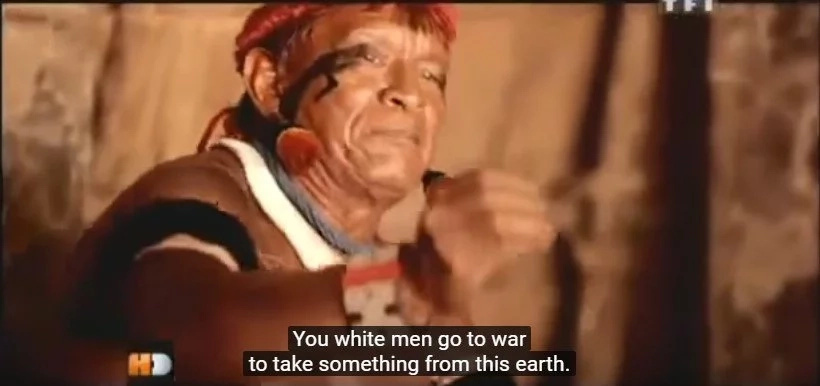 See the reaction of an Amazon tribe to modern war footage, the Moon landing and more (video)