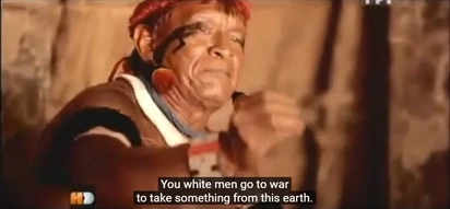 See The Reaction Of An Amazon Tribe To Modern War Footage, The Moon Landing And More