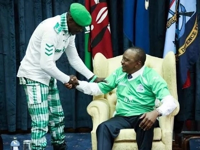 How Uhuru changed Gor Mahia number 1 fan Jaro Soja's life (photos)