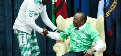How Uhuru changed Gor Mahia number 1 fan Jaro Soja's life (photos)