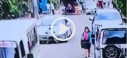 Watch this graphic video of 5 yr. old boy who got ran over by a car