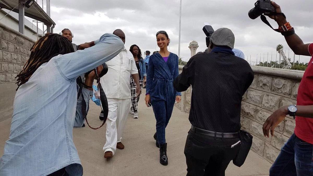 R&B stars Mya, Genuwine arrive in Nairobi ahead of concert
