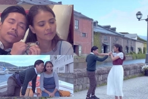 Most Anticipated Film of The Year! Empoy Marquez with Alessandra de Rossi in a Romantic Movie Filmed in Japan
