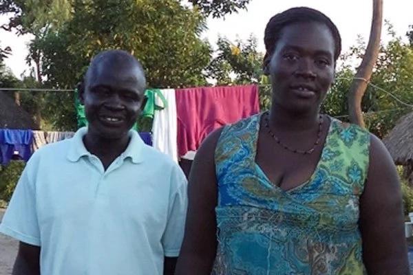 True love: Bongomin and his wife Auma. Photo: Daily Monitor