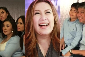 Mega pati ang pamilya! Mega star Sharon Cuneta shares wacky photo shoot bonding with family