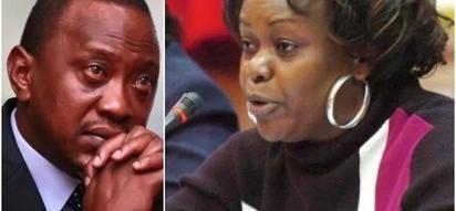 Agree that you were misadvised - Millie Odhiambo tells Uhuru