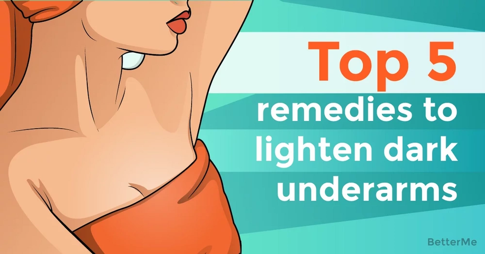 Top-5 home remedies to lighten your dark underarms