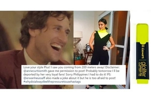"""I saw you coming from 200 meters away!"" Nico, Solenn's hubby Joked About Anne's 'highlighter' shirt"