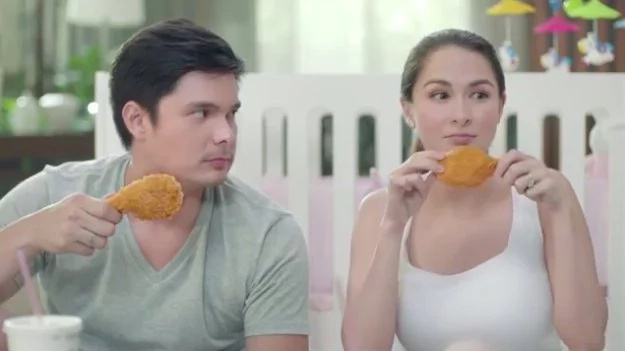 Dingdong and Yanyan advertise McDonald chicken