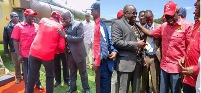 Isaac Ruto refuses to wear Jubilee attire after ditching NASA
