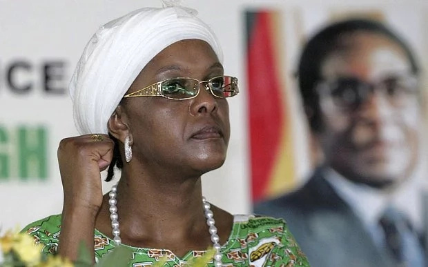 Grace Mugabe handed herself over to police. Photo: iHarare