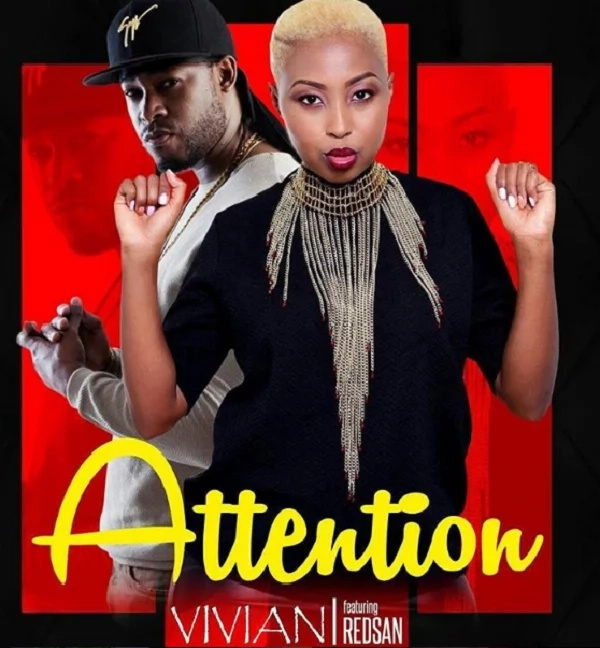 Kenyans will enjoy this! Redsan joins hot singer Vivian for new collabo called Attention