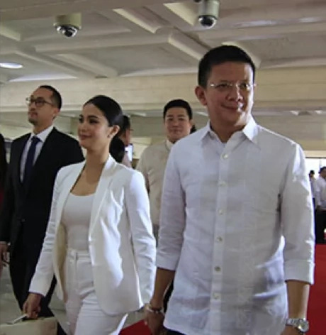 Heart Evangelista turned heads during SONA