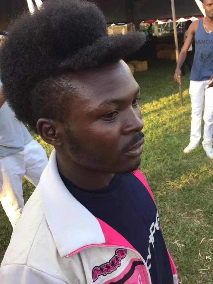 Meru man shows off the strangest, baddest haircut ever seen in Kenya