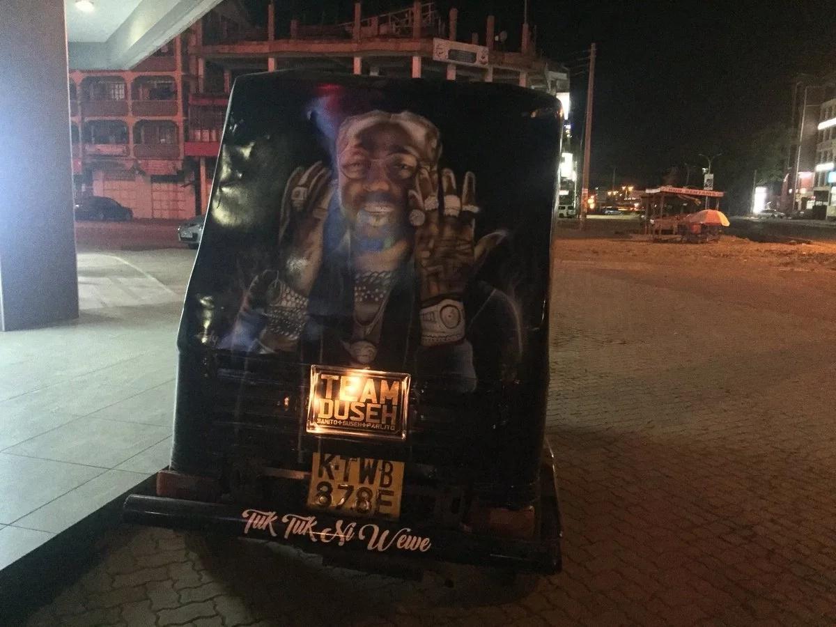 Photos of pimped up tuk tuk that has taken Thika town by storm