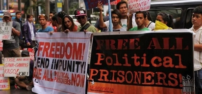 Duterte orders release of political prisoners prior to amnesty
