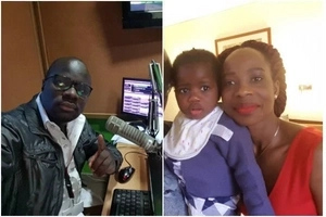 Radio Jambo's top presenter Gidi Ogidi flaunts HOT wife (Photos)