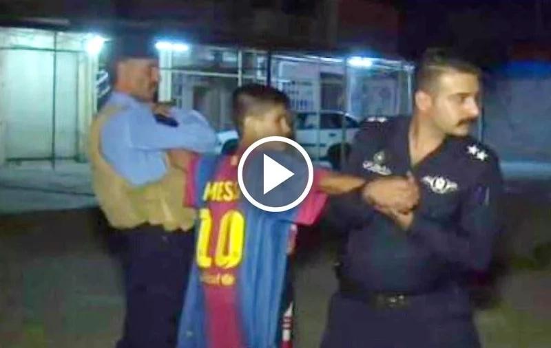Arrestaron a un niño con la camiseta de Messi que iba a inmolarse en Irak