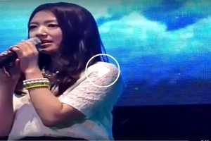 Korean movie actress Park Shin Hye sings classic Pinoy hit in viral Facebook video
