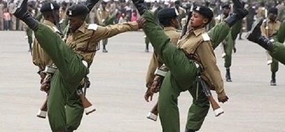 Murang'a county senior officer roughed up in a brawl sparked by the assault of a female officer