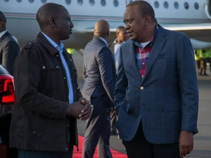 Uhuru, Ruto hold talks on cabinet appointments after claims of a fallout