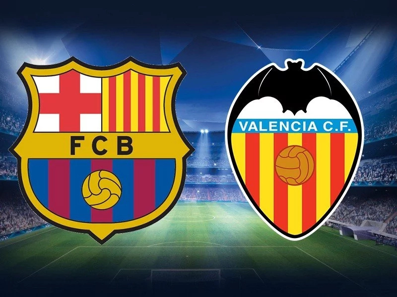 Barcelona Vs Valencia Match That Saw Luis Suarez Claim His Th Goal In  Games